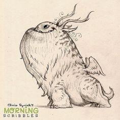 Ready for anything... #morningscribbles | 출처: CHRIS RYNIAK