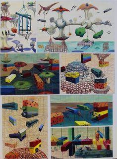 Top Art Exhibition - Painting » NZQA Art Portfolio, Art Boards, Perspective, Teaching, Top, Painting, Ideas, Perspective Photography, Painting Art