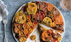 Anna Jones' recipes for two summer vegetable tarts   Life and style   The Guardian
