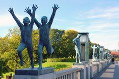 Frogner Park, Oslo Norway