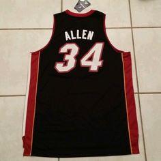 NWT ADIDAS SWINGMAN Miami Heat Ray Allen NBA Jersey Men's Large in Sports Mem, Cards & Fan Shop, Fan Apparel & Souvenirs, Basketball-NBA   eBay