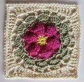 Blodyn pattern by Shelley Husband ~ free pattern ᛡ
