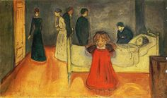 The Dead Mother, 1899-1900, Edvard Munch
