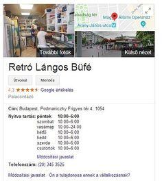 Google szerinti nyitvatartas Budapest, Trip Advisor, Retro, Google, Pies, Retro Illustration