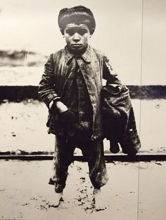 Italian Boy 1918. Picture taken and is displayed on Ellis Island.