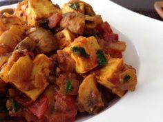 Spicy Mushroom Paneer Masala Recipe (Healthy, Quick Vegetarian Dish)