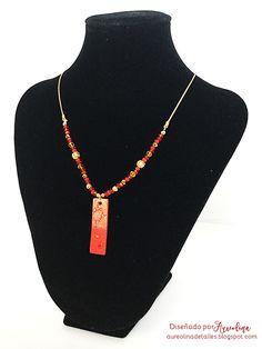 Collar Jaisalmer Rojo