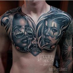 "1,594 Likes, 5 Comments - Luxury Ink Bali Tattoo Studio (@luxuryinkbali) on Instagram: ""Via vallen & nella karisma done by shua #luxuryinkbali #chesttattoo #blackandgreytattoo #balitattoo"""