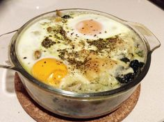 Treinos Culinários: Gratinado de Couve-Flor com Ovos