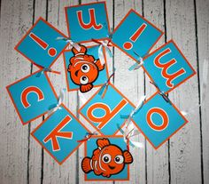 Finding Nemo Birthday Party Banner