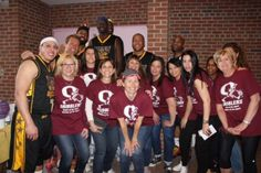 The Magic Masters and O'Dribblers competed at Ossining High School.