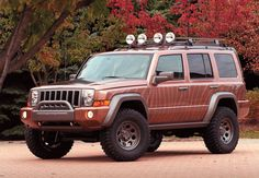 Commanders everywhere are probably waiting for their future as a lifted Jeep.