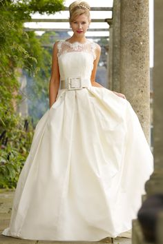 Stephanie Allin Kelly Dress #weddingdress