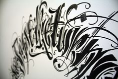 Calligraphy collection: year one on Behance