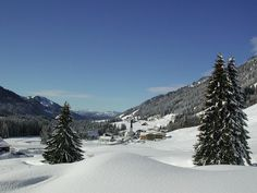 Winterliches Balderschwang