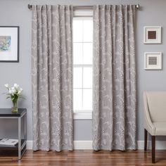Girls Natural Brown Moroccan Window Curtain 96 Inch Pair Panel
