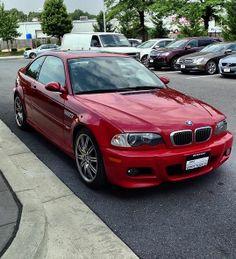 Red. Hot. #BMW #e46 #m3 #PassportLife
