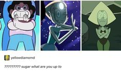 It's probably Steven doing that awesome crossed arms anime thingy, or is it?