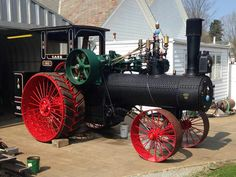 Steam 110 HP J I Case Antique Tractors, Vintage Tractors, Vintage Farm, Big Tractors, Case Tractors, Tractor Photos, Steam Tractor, Small Engine, Steam Engine