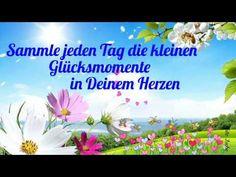 Blumen des Glücks musst Du selbst pflanzenIch wünsche dir ein wunderschönes Wochenende - YouTube