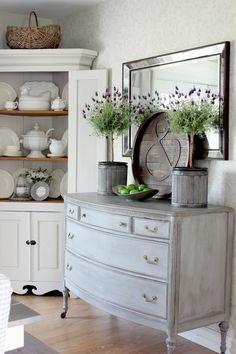 lavender topiaries
