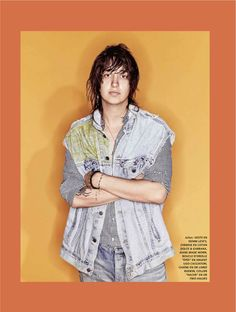 Julian Casablancas for L'Officiel Hommes Paris 2014 Julian Casablancas, Nikolai Fraiture, Albert Hammond, Photo Processing, The Strokes, Music Bands, Celebrity Crush, Her Hair, Beautiful Men