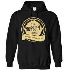 NORBERT THING - #gift wrapping #novio gift. MORE ITEMS => https://www.sunfrog.com/LifeStyle/NORBERT-THING-2255-Black-37589421-Hoodie.html?68278