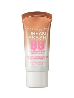 Maybelline New York Dream Fresh BB Sunscreen, $8.99. Five self-adjusting shades, SPF 30—and did we mention five shades? This multitasker helps women of all skin tones get even.