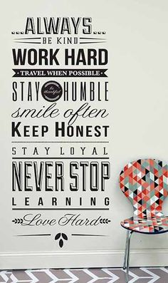 Always Be wall decal quote decal Family Wall  sc 1 st  Pinterest & 86 best Creative Wall decals Quotes images on Pinterest | Wall ...
