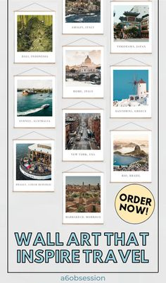 Ignite that wanderlust in you with this travel wall art. Travel Advice, Travel Guides, Travel Articles, Work Travel, Asia Travel, Travel Wall Decor, Bath And Beyond Coupon, Digital Nomad, Budget Travel