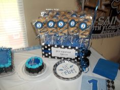 rice krispies favors | Rice Krispie favors | Baby Shower Ideas