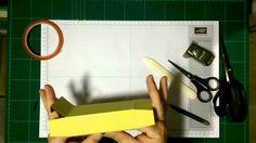 Anleitung:Taschentuchbox mit  Banderole / mit stampin' up!