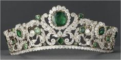 The Royal Order of Sartorial Splendor: Readers' Ultimate Tiaras: Your Emerald Winner!