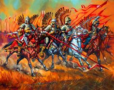 Charge of the Polish Winged Hussars in Vienna