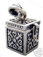 new opens - zeus pandora's box hope chest silver charm Real Sterling silver 925 pendant Charm jewelry $36.67