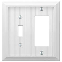 Amerelle Sonoma 159RRRBN 3 Rocker GFCI Decora Wall Plate Cover Brushed  Nickel  Residential lighting Wall plates and Lighting