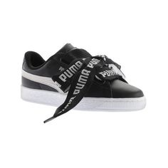 check out 44637 9f6cc Women s PUMA Basket Heart DE Sneaker (665 NOK) ❤ liked on Polyvore  featuring shoes