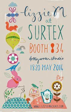 print & pattern: SURTEX 2014 - dotty wren studio