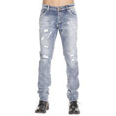 Jeans Hombre Philipp Plein Stone Washed   Jeans Philipp Plein Mdt0079 Pde012n - Giglio ES