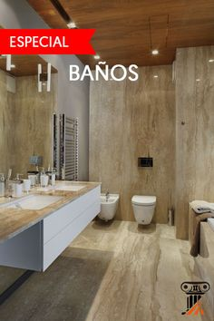 Baños de Mármol en : http://marmolperu.pe/category/travertino/