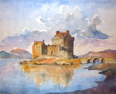 Eilean Donan castle by sergin3d2d.deviantart.com on @DeviantArt