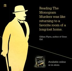 Hercule Poirot is a detective in Agatha Christie novels. Read more: http://www.harpercollins.com.au/authors/50000113/Agatha_Christie/index.aspx