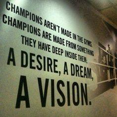 champions dream