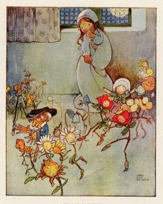 Little Ida's Flowers by Mabel Lucie Attwell