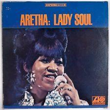 ARETHA FRANKLIN: Lady Soul USA ORIG Stereo Soul R&B Vinyl LP VG+