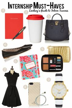 Internship Must-Haves | the Fashion Barbie Blog