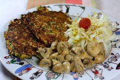 Galettes végétariennes de sarrasin aux herbes accompagnement 1 recettes plats complets