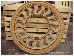 Metal Vent (top turns to close outer circle of openings) - The Onslow Historic Lumber Co.