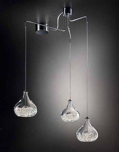 lampadari sillux : LAMPADARIO 3 LUCI collezione GRAAL/B di Sil Lux