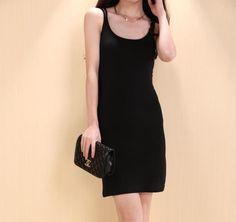 Modal Full Slip Summer Solid Spaghetti Strap Sleeveless Knee Length Bottoming Soft Womens Slips Plus Size Underwear(China (Mainland))